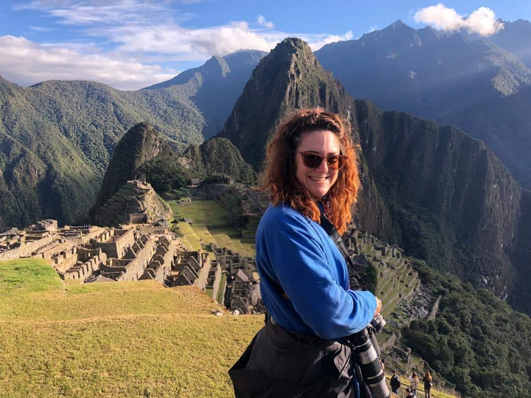 Heather Markel at Machu Pichu